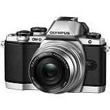 OLYMPUS OM-D E-M10 Kit2 - Silver - Camera Mirrorless