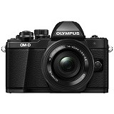 OLYMPUS OM-D E-M10 Mark II Kit - Black - Camera Mirrorless