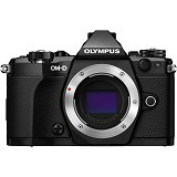 OLYMPUS OM-D E-M5 Mark II Body Only- Black - Camera Mirrorless