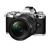 OLYMPUS OM-D E-M5 Mark II Kit1- Silver - Camera Mirrorless
