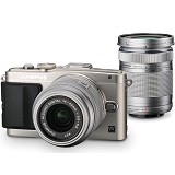 OLYMPUS PEN E-PL6 Double - Silver - Camera Mirrorless