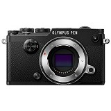 OLYMPUS PEN-F Mirrorless Micro Four Thirds Digital Camera Body Only - Black - Camera Mirrorless