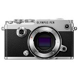 OLYMPUS PEN-F Mirrorless Micro Four Thirds Digital Camera Body Only - Silver