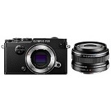 OLYMPUS PEN-F Mirrorless Micro Four Thirds Digital Camera Kit - Black - Camera Mirrorless