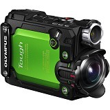 OLYMPUS Stylus TG-Tracker Action Camera - Green - Camcorder / Handycam Flash Memory