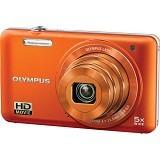 OLYMPUS Stylus VG-160 - Orange - Camera Pocket / Point and Shot