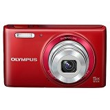 OLYMPUS Stylus VG-180 - Red - Camera Pocket / Point and Shot