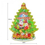 OMOMART Dekorasi Natal Christmas Tree (Small) - Wall Art / Hiasan Dinding