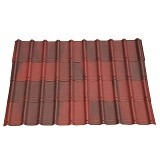 ONDUVILLA Atap Rumah 1060 x 40 mm - Shaded Red (Merchant) - Atap/Genteng