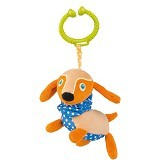 OOPS Easy-Long Friends!Dog [OP11014.22] - Mainan Gantung / Stroller Toy