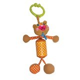 OOPS Easy-Rattle!Bear [OP18002.11] - Mainan Gantung / Stroller Toy
