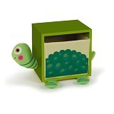 OOPS Lemari Laci Penyimpanan 1 Susun Turtle Cookie [OP70003.23] - Green - Nursery Furniture & Decor