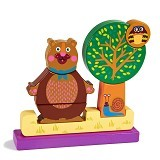 OOPS Mainan Kayu Magnet Puzzle Forest Bear Chocolat au Lait [OP16004.10]