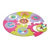 OOPS Matras Puzzle Busa EVA Forest [OP14002.10] - Gym and Playmate for Baby / Kids
