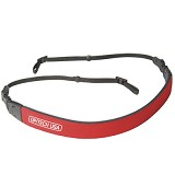 "OPTECH USA Fashion Strap - 3/8"" - Red - Camera Strap"