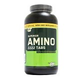 OPTIMUM NUTRITION On Amino 2222 300 Tabs - Suplement Peningkat Metabolisme Tubuh