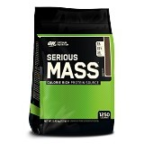 OPTIMUM NUTRITION On Serious Mass 12 LB - Chocolate - Suplement Peningkat Metabolisme Tubuh