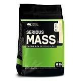 OPTIMUM NUTRITION On Serious Mass 12 LB - Vanila - Suplement Peningkat Metabolisme Tubuh