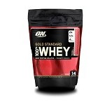 OPTIMUM NUTRITION On Whey GS 1 LB Pouch - Strawberry - Suplement Peningkat Metabolisme Tubuh