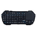 OPTIMUZ Keyboard Bluetooth Portable Design [BT05R] - Hitam - Keyboard Desktop