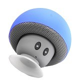 OPTIMUZ Speaker Mini Bluetooth Jamur Type - Blue - Speaker Bluetooth & Wireless