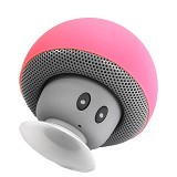 OPTIMUZ Speaker Mini Bluetooth Jamur Type - Peach - Speaker Bluetooth & Wireless