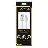 OPTIMUZ V8 Kabel Data Micro USB 3Meter - White - Cable / Connector Usb