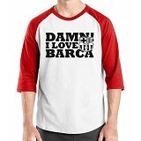 ORDINAL Raglan Barcelona Edition 08 Size XL (Merchant) - Kaos Pria
