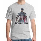 ORDINAL T-shirt New Captain America 08 Size XXL (Merchant)