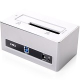 ORICO Alumunium HDD Docking Station SATA 3.0 [6818US3-Putih] - White - Hdd Docking