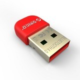 ORICO Bluetooth 4.0 Receiver Dongle [Bta-403] - Red - Network Card Wireless