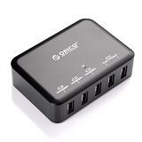 ORICO DCAP-5S 5 Ports USB 3.0 Hub [ORI-USB-CHG-DCAP-5S-BK] - Black - Cable / Connector Usb