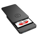 ORICO Portable 2.5 inch SATA3 to USB3.0 HDD Enclosure [ 2569S3-BLACK] - Black - Hdd External Case