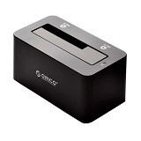 ORICO USB 3.0 & ESATA to SATA External Hard Drive Docking Station 2.5/3.5 Inch HDD/SDD [6619SUS3-BLACK] - Black - Hdd Docking
