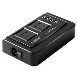 ORICO Wall Charger with 2 AC Outlet and 4 USB Charger Port [OPC-2A4U] - Universal Charger Kit