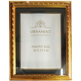 ORNAMENT Bingkai/Frame Foto 8R - Gold - Photo Display / Frame
