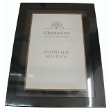 ORNAMENT Bingkai/Frame Foto 8RW / A4 - Black - Photo Display / Frame