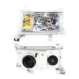 OTOMOBIL Head Lamp Lights Toyota Kijang 1997 Kristal - Set (Merchant) - Lampu Mobil