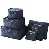 OUR CHICS SHOP 3rd Gen Bag in Bag - Black - Travel Bag