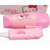 OUR CHICS SHOP Hair Dryer Hello Kitty Portable - Alat Pengering Rambut / Hair Dryer