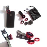 OUR CHICS SHOP Universal Clip Lens 3 In1