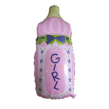 OUR DREAM PARTY Balon Botol Bayi Cewe - Balon