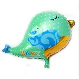 OUR DREAM PARTY Balon Burung Hijau-baby bird - Balon
