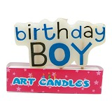 OUR DREAM PARTY Lilin Birthday Boy - Lilin Ulang Tahun / Birthday Candle
