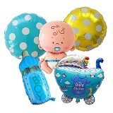 OUR DREAM PARTY Paket Balon Baby Shower Laki-laki - Balon