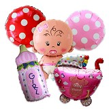 OUR DREAM PARTY Paket Balon Baby Shower Perempuan - Balon