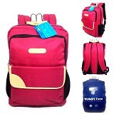OUTLETKAKI5 Notebook Backpack 01 - Red  (Merchant) - Notebook Backpack