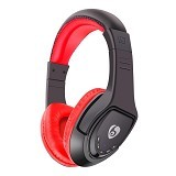 OVLENG Headphone Wireless Bluetooth Super Bass with Mic Noise Canceling [MX333] - Red (Merchant) - Headset Bluetooth