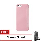 OZAKI O!Coat 0.3 Pocket Ultra Slim for iPhone 5/5S [OZ-OC547PK] - Pink - Casing Handphone / Case