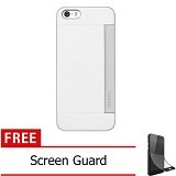 OZAKI O!Coat 0.3 Pocket Ultra Slim for iPhone 5/5S [OZ-OC547WH] - White - Casing Handphone / Case